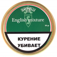 Табак Savinelli English Mixture 50g