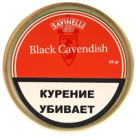 Табак Savinelli Black Cavendish 50g